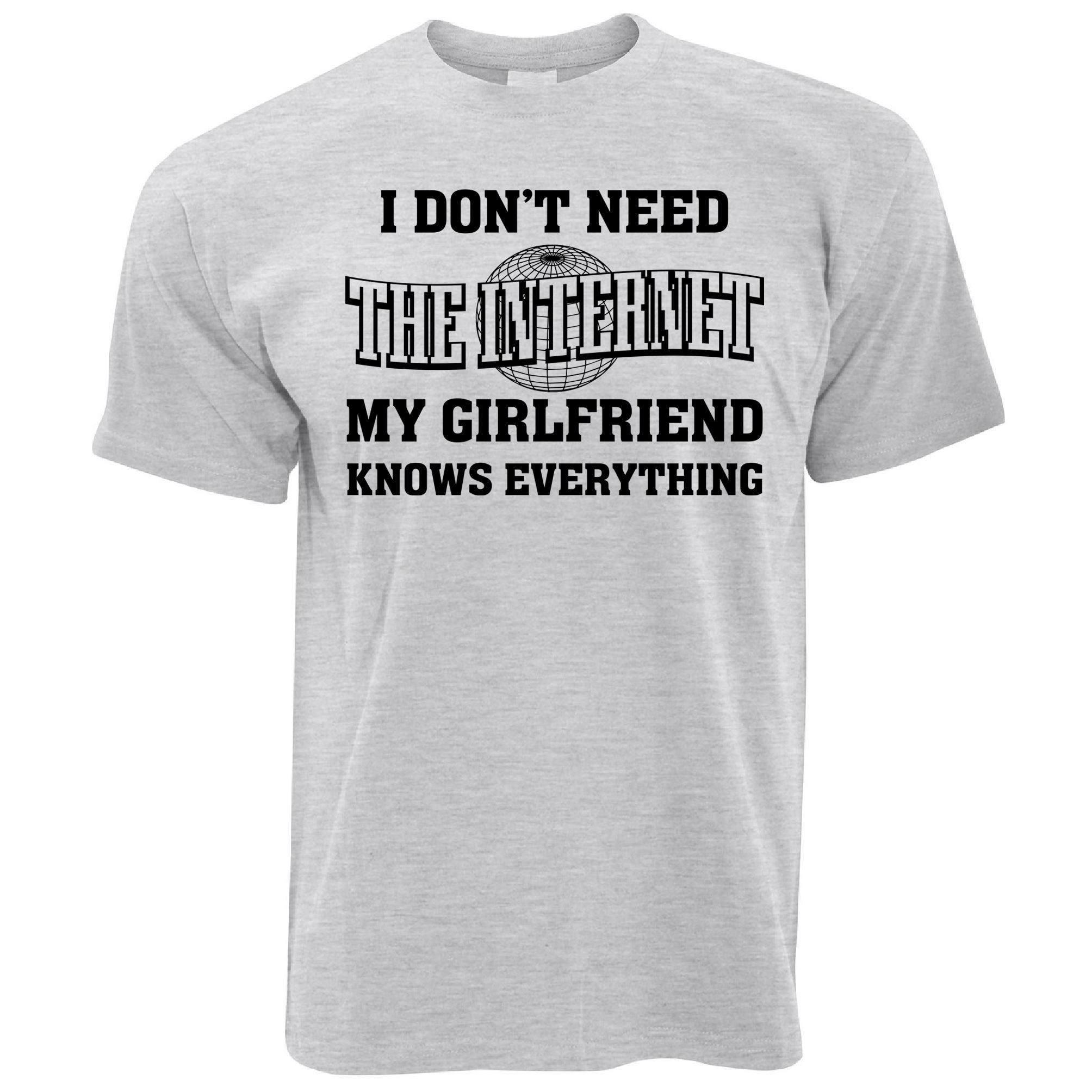 Boyfriend And Girlfriend Funny Shirts Anlis