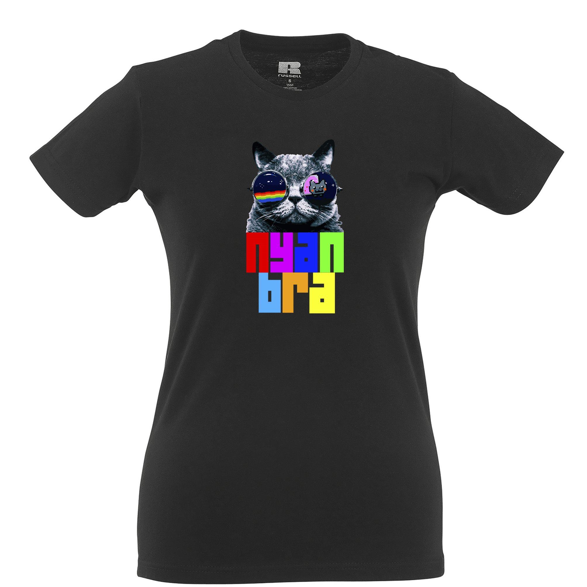 Funny Internet Meme T Shirts : Nyan cat bra cool funny t shirt youtube internet meme