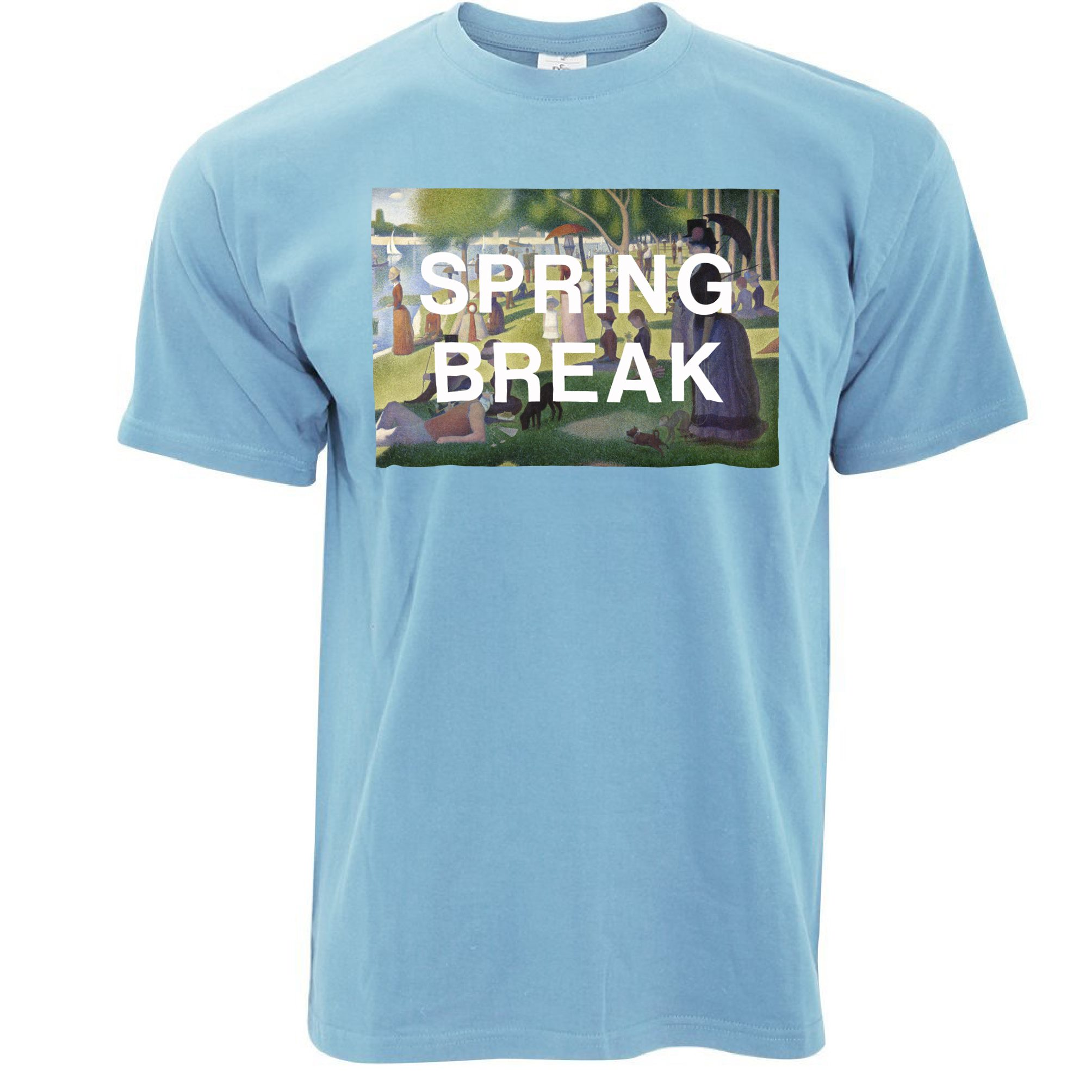 Spring break cavation part beach contest drinking drunk for Beach t shirts for men