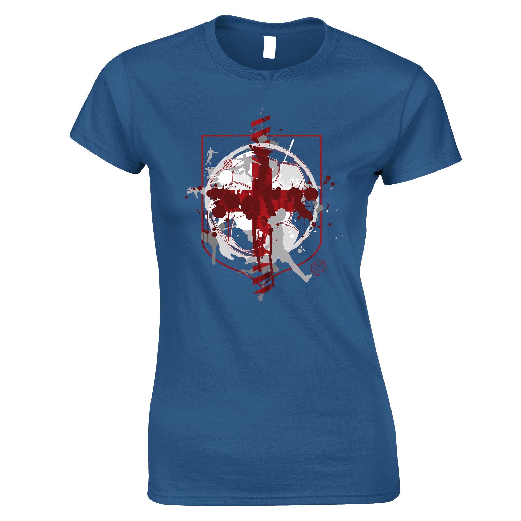 england flag football printed logo design sport soccer world cup