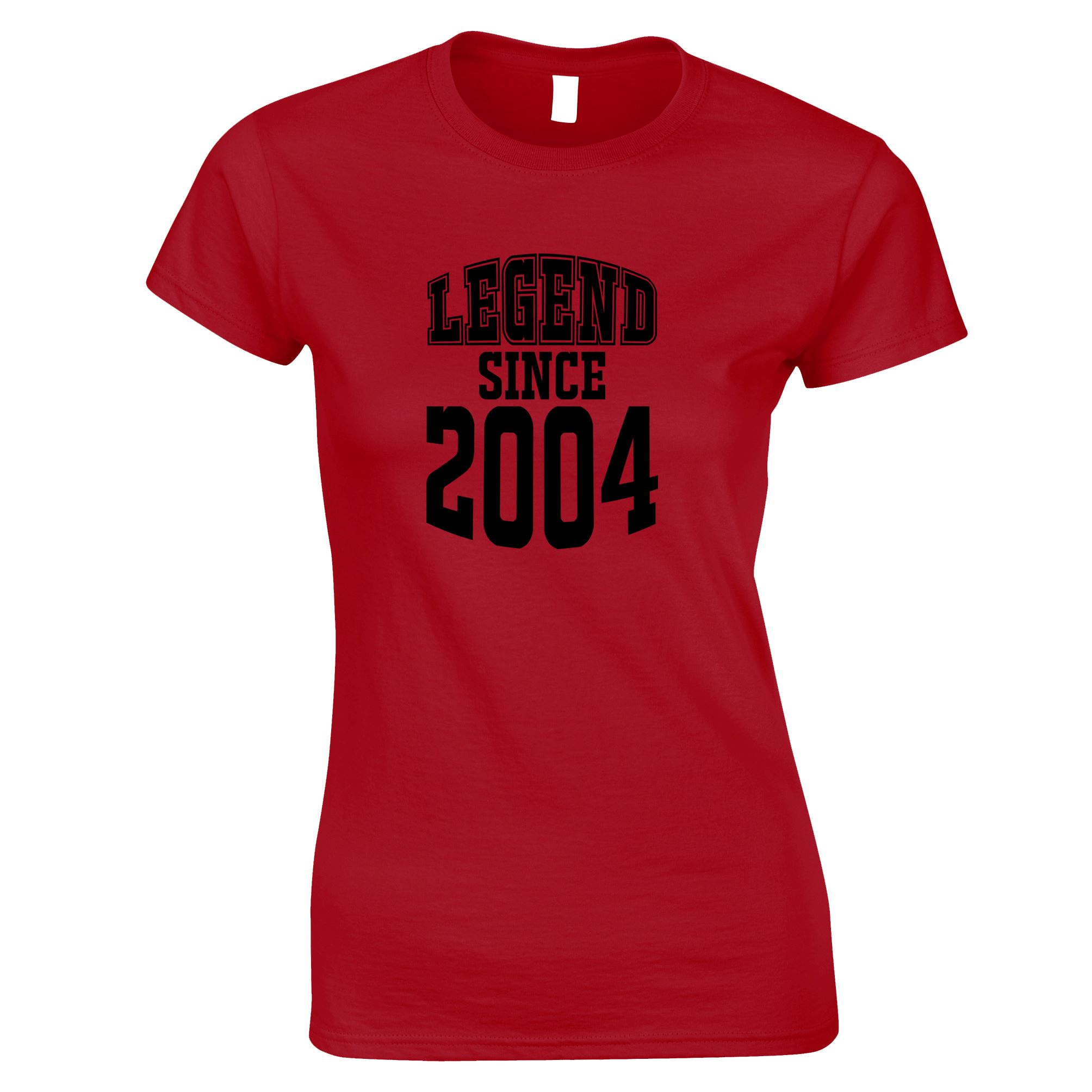 Legend-Since-1999-18th-Birthday-Gift-Made-In-1999-18-Years-Old-Womens-TShirt