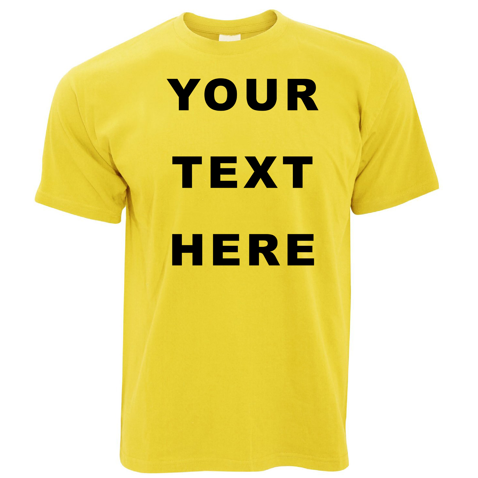 your text here custom personalised printed mens t shirt ebay